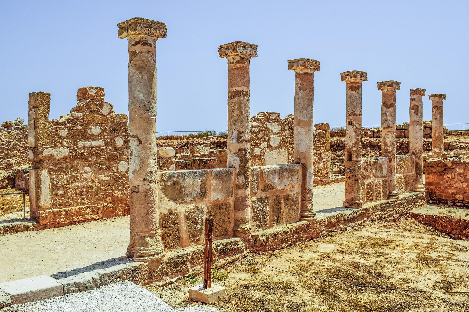 Páfosz, Ciprus: archeológiai park