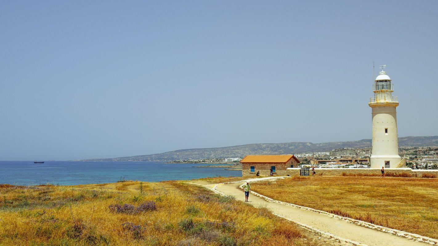 Páfosz, Ciprus: világítótorony