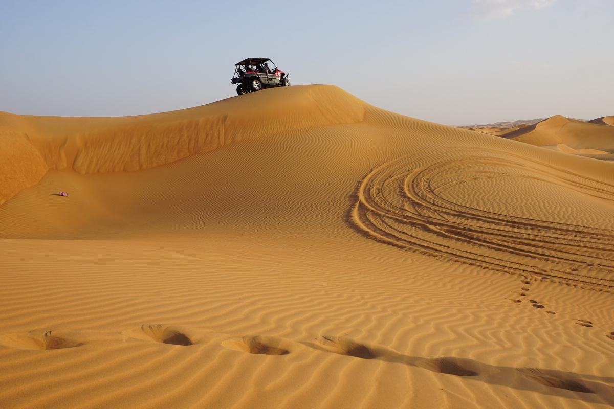 Dubai: irány a sivatag