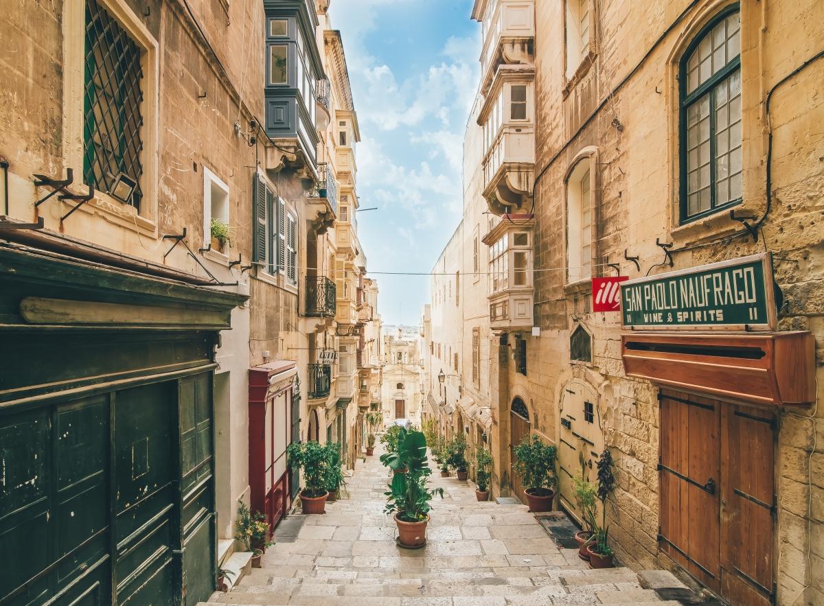 Malta fővárosa, Valletta