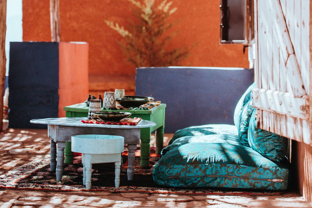 Ileyn egy reggeli Marrakeshben