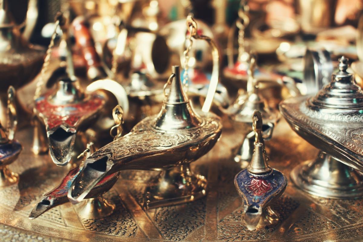 Marrakesh: csodalámpák a bazárban