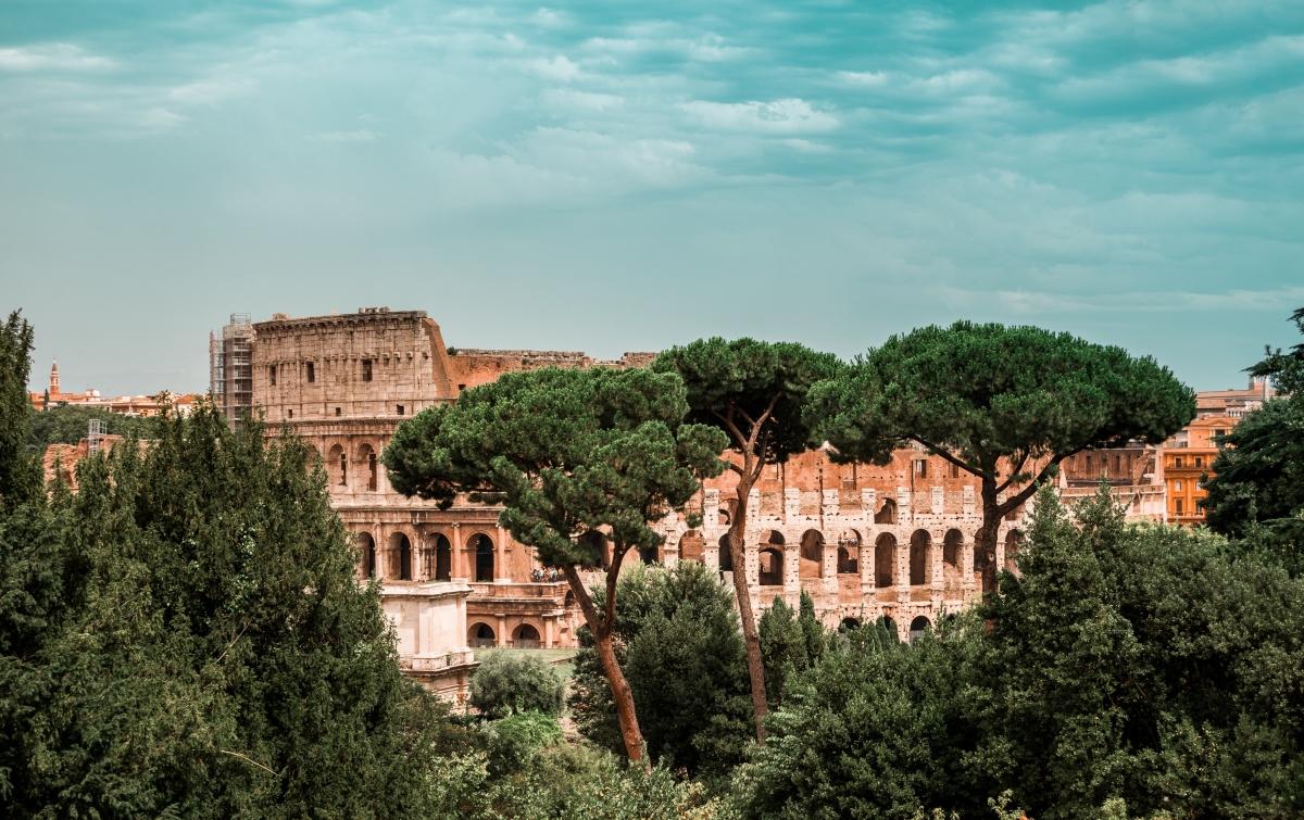 Róma ikonikus épülete, a Colosseum