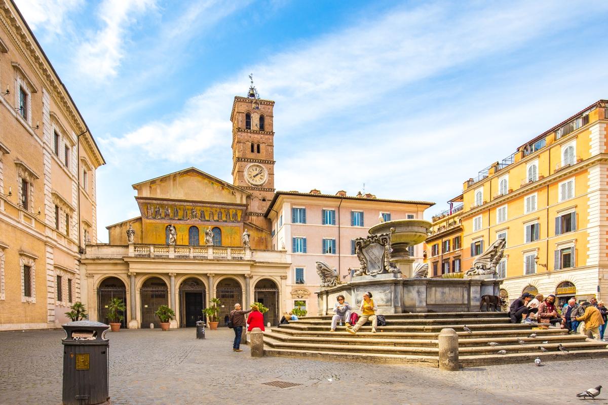 Trastevere, Róma talán legszínesebb és legderűsebb negyede