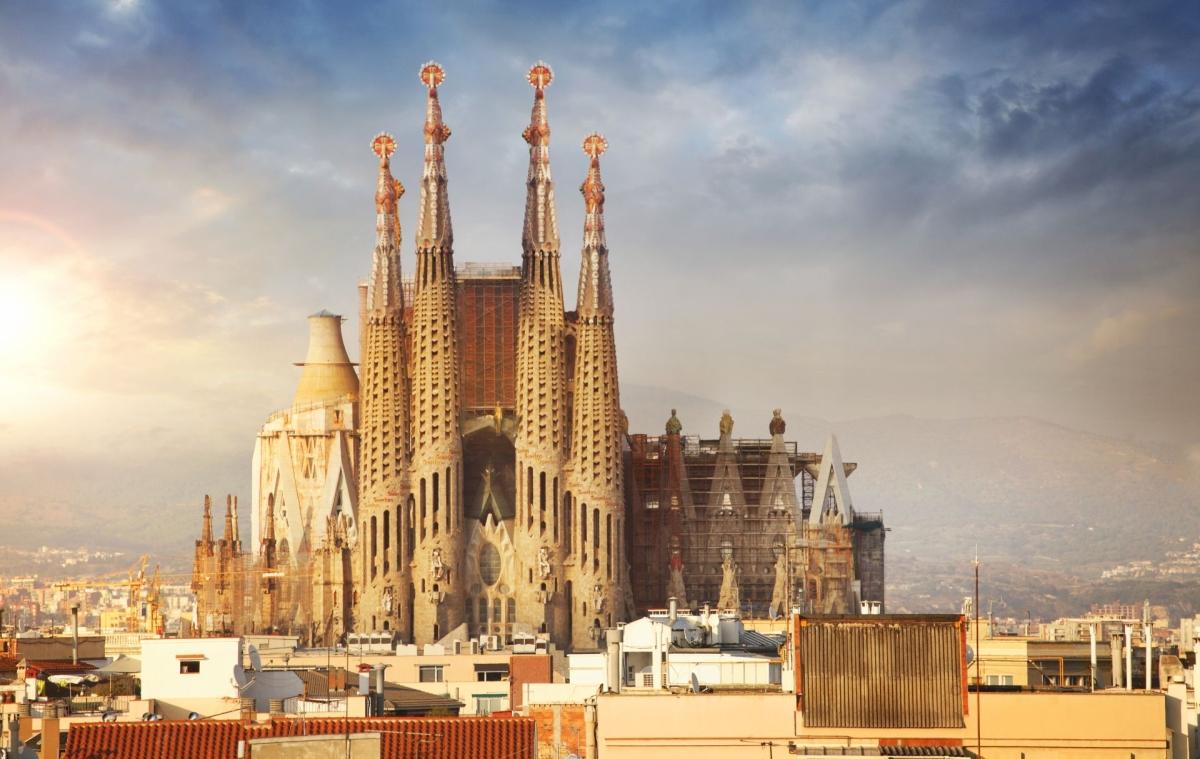 Barcelona egyik jelképe: Sagrada Familia