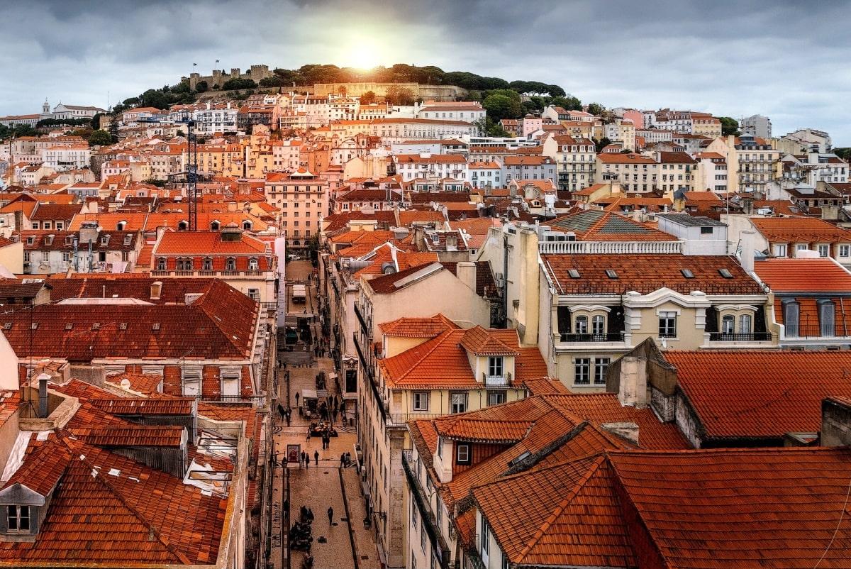 Lisszabon belvárosa