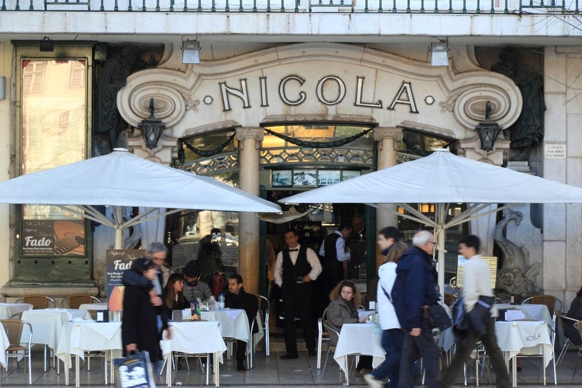 Lisszabon, Cafe Nicola