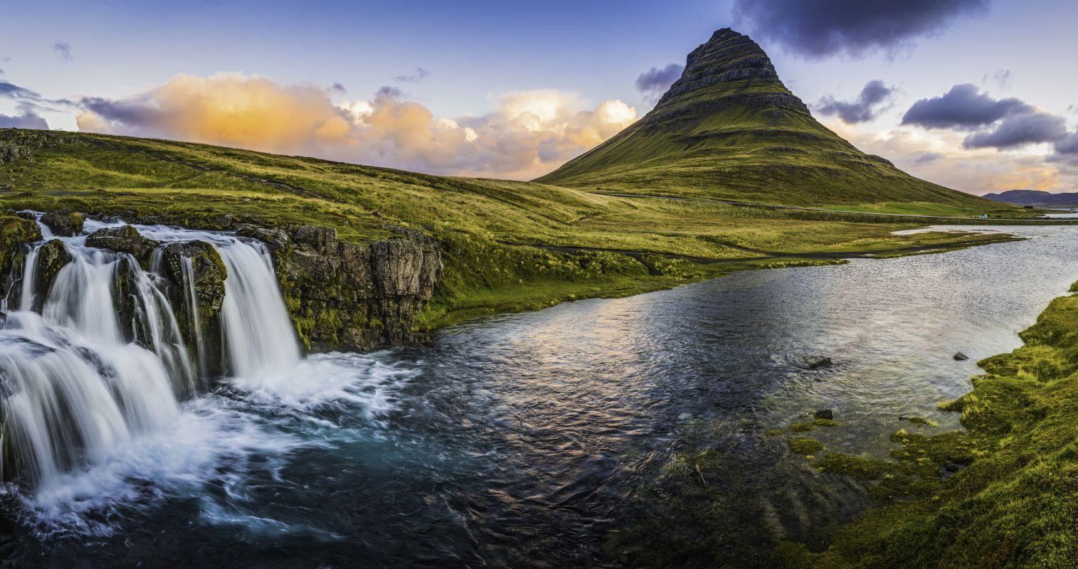 Kirkjufell-vízesés, Izland